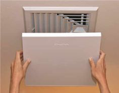 Elima-Draft Air Conditioner/Heater Ceiling/Wall Vent/Register Covers - these insulated vent covers can save you up to 10% annually on your heating and cooling bill, at only $21.99! It saves energy, conserve electricity for home heating/cooling system. #energysaving #homeneeds