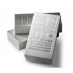 NTR 100 Ounce Silver Bar