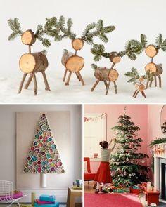 Birds-Alighting Christmas Tree