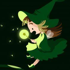 Promenade nocturne pour une petite fée des bois