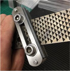 specializes in high quality, bespoke and custom made products for the knife maker Forging Knives, Knife Making Tools, Custom Knives, Tools And Equipment, Cigar Cutter, Blacksmithing, Filing, Metal Working, Blade