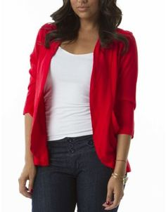 Shop ModDeals.com for discounted Throw On Big Pocket Blazer in Infrared. Find cheap women's Blazers in our online fashion clothes & accessories store.