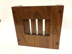 This Mission Style Doorbell Chime Cover is made of solid hardwood. This is the perfect & Mission Style Door Chime Cover | Doorbell Cover | Ideas for the ... pezcame.com