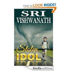 Stolen Idol is a fascinating philosophical mystery that deftly captures man's struggle for knowledge of himself, his relation to society, and to his religious leanings. The story, as experienced by Vignesh, a precocious and curious 12-year old, centers around the theft of a sacred idol of Shakti from a village temple devoted to the goddess. In a series of encounters, as he searches for the missing idol, Vignesh enters into a dead man's body to consult a learned astrologer. He is beset by a mysti