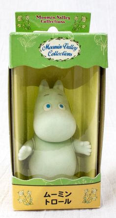 Moomin Valley Collection Characters Moomin troll Mini Figure Sunlike JAPAN
