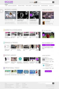"[Muro de actividad] ""My Beautiful Intranet DWG: The Edge, from Chalhoub Intranet Design, The Marketing, Workplace, Thumbnail Image, Group, Digital, Creativity, Branding, Content"