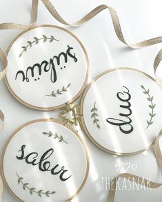 diy ideas – New Ideas Embroidery Letters, Hand Embroidery Patterns, Ribbon Embroidery, Wall Stencil Patterns, Flower Doodles, Punch Art, Punch Needle, Needle And Thread, Fabric Crafts