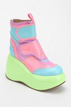 Jeffrey Campbell Echo Glow Platform Ankle Boot