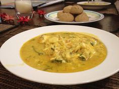 Fish and Turmeric Soup - Thermomix Recipe