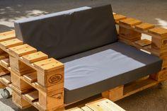 Das Wichtigste für Style und Bequemlichkeit der Palettenmöbel sind aber definitiv die Palettenkissen!