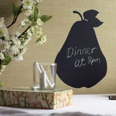 Wallies Pear Chalkboard Wall Stickers U2013 Next Day Delivery Wallies Pear  Chalkboard Wall Stickers From WorldStores Part 73