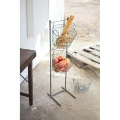 3 Tiered Metal/Wire Basket