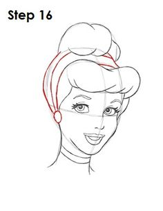 How to Draw Disney's Cinderella. And other disney princess tutorials.I have never been good at drawing Cinderella but she's my fav disney princess! Cinderella Drawing, Disney Princess Drawings, Disney Sketches, Disney Drawings, How To Draw Cinderella, How To Draw Princess, Cinderella Disney, Draw Disney, Disney Art