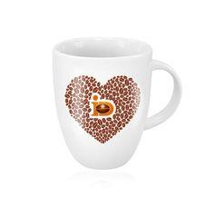 Exklusive Sonderanfertigung zum Tag des Kaffees 2015: die Freundschaftskaffeetasse von J.J.Darboven #Kaffee #Tasse #WirliebenKaffee