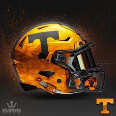 The Best College Football Alternate Helmet Concepts - FitShop Football Helmet Design, College Football Uniforms, Tennessee Titans Football, Tennessee Volunteers Football, College Football Helmets, Nfl Football Teams, Custom Football, Football And Basketball, College Sport