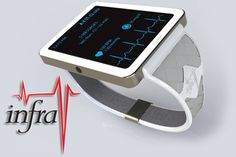 InfraV No-Blood, Glucose Vital Signs Monitor Watch