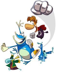 Rayman Origins Art & Pictures