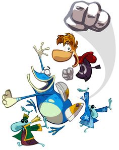 Rayman Origins Art & Pictures