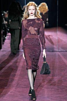Gucci Fall 2012 Ready-to-Wear Fashion Show - Josephine Skriver