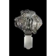 Top rank handcrafted product from section Clips associated with dog breed Grand Basset Griffon Vendéen Clipring:- Perfect for a gift - made with remarkable precision of execution- masterfully crafted by the best Polish artistDimensions:- cm x cm ( Dog Lover Gifts, Dog Lovers, Dog Supplies, Wall Lights, Statue, Dogs, Silver, Handmade, Appliques