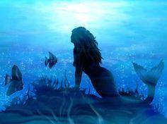 Explore Mermaid Wallpaper on WallpaperSafari Fantasy Mermaids, Mermaids And Mermen, Pretty Mermaids, Mermaid Under The Sea, The Little Mermaid, Sirens, Mermaid Wallpapers, Fantasy Background, Abstract Pictures