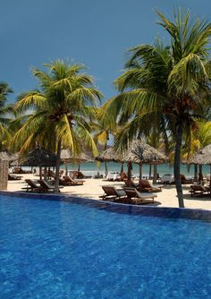 The Tides Zihuatanejo...anything you want served directly to your beach chaise - heaven!