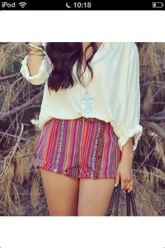 Cute tribal outfit. I very love!!