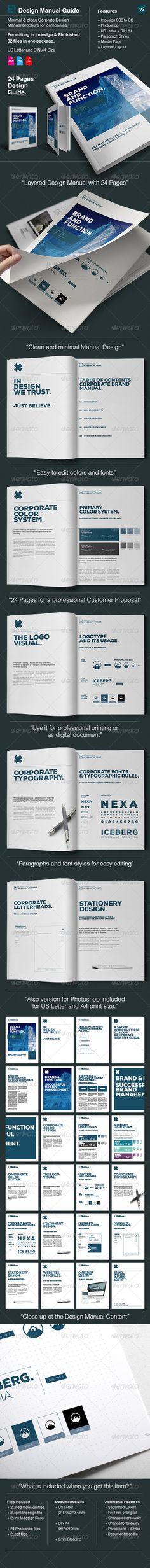 Elite Corporate Design Manual Guide 24