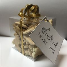 Gold safari first birthday party favor. Favor tag design by: Emma smith stationary