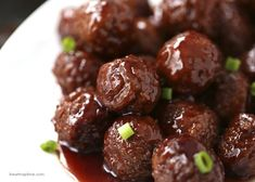 This simple recipe amps-up regular frozen meatballs by cooking them in a mixture of grape jelly and barbecue sauce. It might sound weird, but it's the perfect combo of sweet and savory. Get the recipe here.
