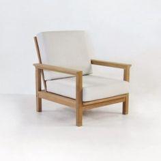 St. Tropez Teak Outdoor Club Chair-0