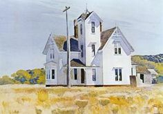 Maison à Eastham - (Edward Hopper)                              …                                                                                                                                                                                 Plus