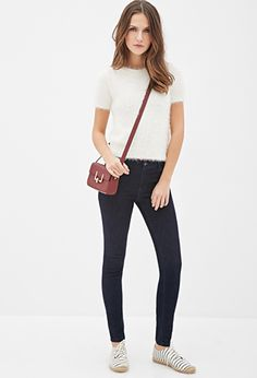 Low-Rise Skinny Jeans | FOREVER21 | #f21denim