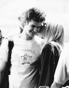 """""""It was like I woke up when she came in.""""  Andrew Garfield and Emma Stone"""