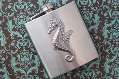 Seahorse Flask