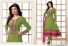 Sushmita Sen in Anarkali Dresses | Bollywood Dresses Suits