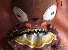 Applesauce  - Stuffed Fox doll, Waldorf inspired by Prudence, $114.00