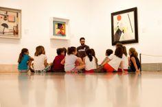 """Educathyssen  — Los museos están en un apasionante momento de redefinición global. Sus funciones o su papel en la sociedad del siglo XXI, supone también un replanteamiento de sus perfiles profesionales. Por ello, desde el Área de Educación ponemos en marcha el """"Máster en educación en museos"""" junto a Universidad de Alcalá y el Portal Liceus."""