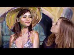 Alexa Meade for Desigual Promo Video - Barcelona, Spain 2015 - YouTube