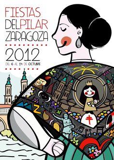 ¡Ya casi están! Son pocos los días que faltan para poder disfrutar de las Fiestas en honor a las Virgen del Pilar en la ciudad de Zaragoza.