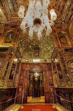 Golestan Palace, Hall of Mirrors, Tehran, Iran
