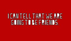 """The White Stripes - """"We're Going To Be Friends"""""""
