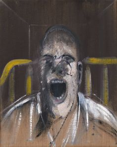 Francis Bacon - Study for the Head of the Screaming Pope, 1952