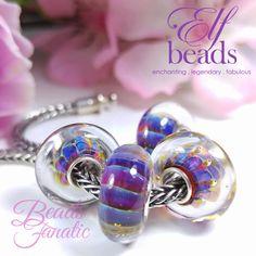 Elfbeads Violet Dunes - Kaleidoscope Collection