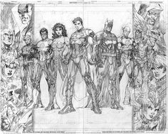 Justice League by Jim Lee (Pencils)