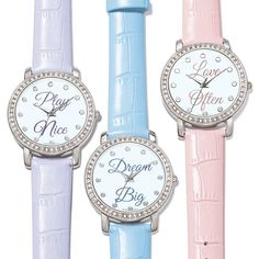 Inspire yourself every second of the day! Leatherlike, faux-croc strap. Regularly $24.99, buy Avon Jewelry online at http://eseagren.avonrepresentative.com