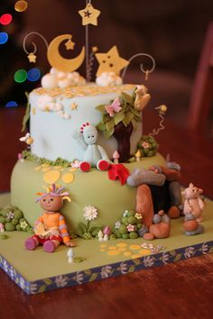 In the Night Garden cake | Flickr - Photo Sharing!