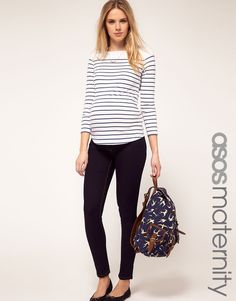 These are the maternity jeans I want!  So cute! <3