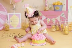 Pink Lemonade Cake Smash Professional Newborn Photography. Baby photographer. Central, MA Worcester, MA, Leominster, MA, Newborn Photography, Family Photography, Pink Lemonade Cake, Baby Cake Smash, Baby Photographer, Worcester, Photographing Babies, 1 Year, Picture Ideas