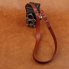 Bresson Genuine Leather Camera Wrist Strap Black Red for DSLR Leica Fujifilm Leather Camera Strap, Personalized Items, Bracelets, Red, Black, Jewelry, Jewlery, Black People, Jewerly